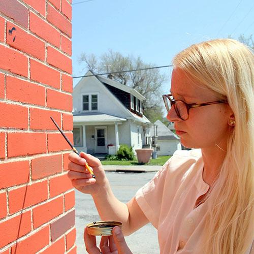 maggie webber, muralist
